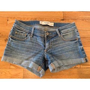 A&F Denim Shorts Size 25W